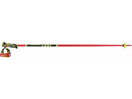 LEKI WCR TBS SL 3D FLUORESCENT RED-BLACK-NEONYELLOW