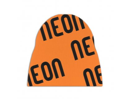 Logo beanie orange