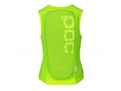 20024 POCitoVPDAirVest 8234 FluorescentYellow Green back