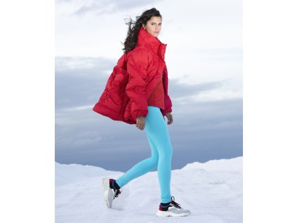 POIVRE BLANC W19-1202-WO PADDED JACKET SCARLET RED