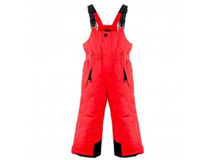 POIVRE BLANC W19-0924-BBBY SKI BIB PANTS SCARLET RED