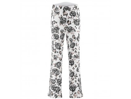 POIVRE BLANC W19-0820-WO/A STRETCH SKI PANTS BROWN FLOWER (Velikost S)