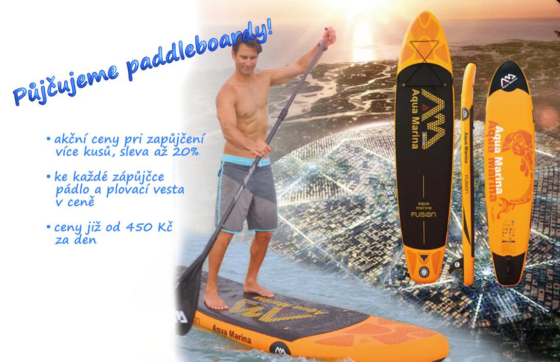 Půjčovna paddleboardy