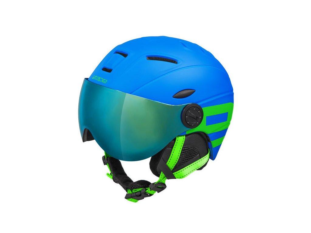 Etape Rider PRO Visor  modrá/zelená mat