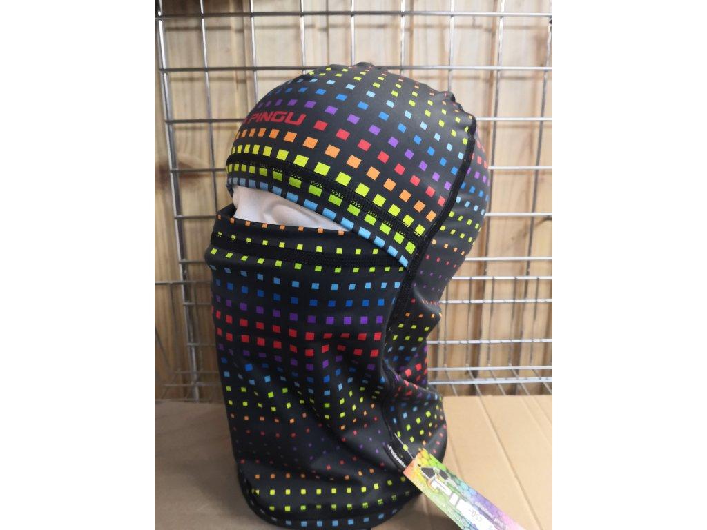 Pingu KAT zateplená kostičky barevné