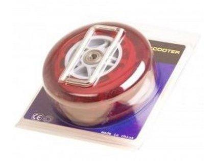 Stuf kolečka na koloběžku 125mm červené