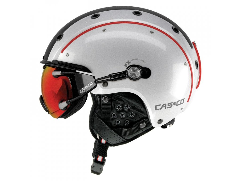 Casco SP3 Comp white black red side cmyk+FX70 Carbonic 07.2527