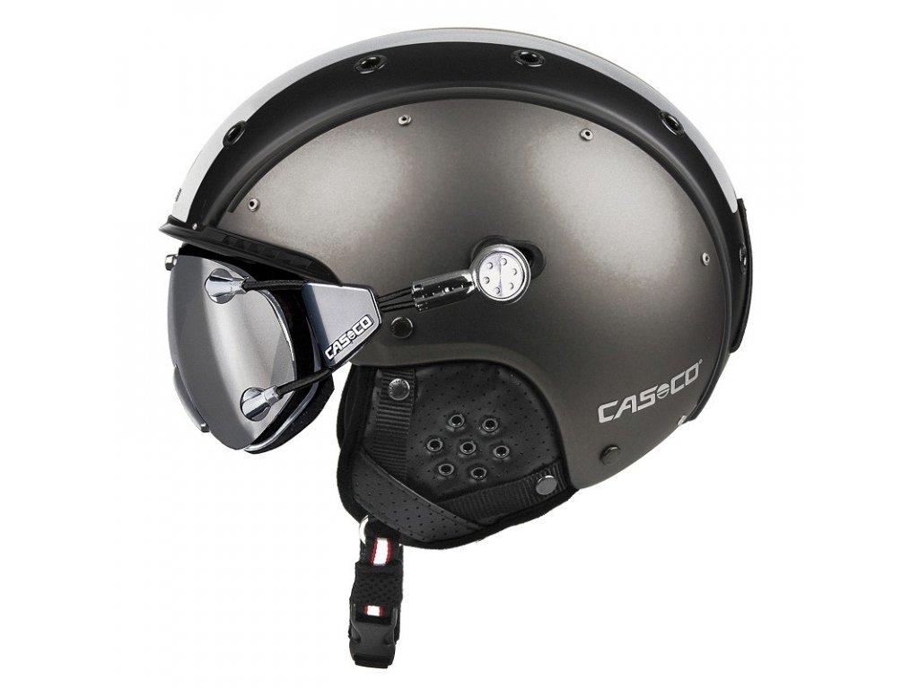Casco SP3 Comp gunmetall white side cmyk+FX70 Carbonic 07.2529