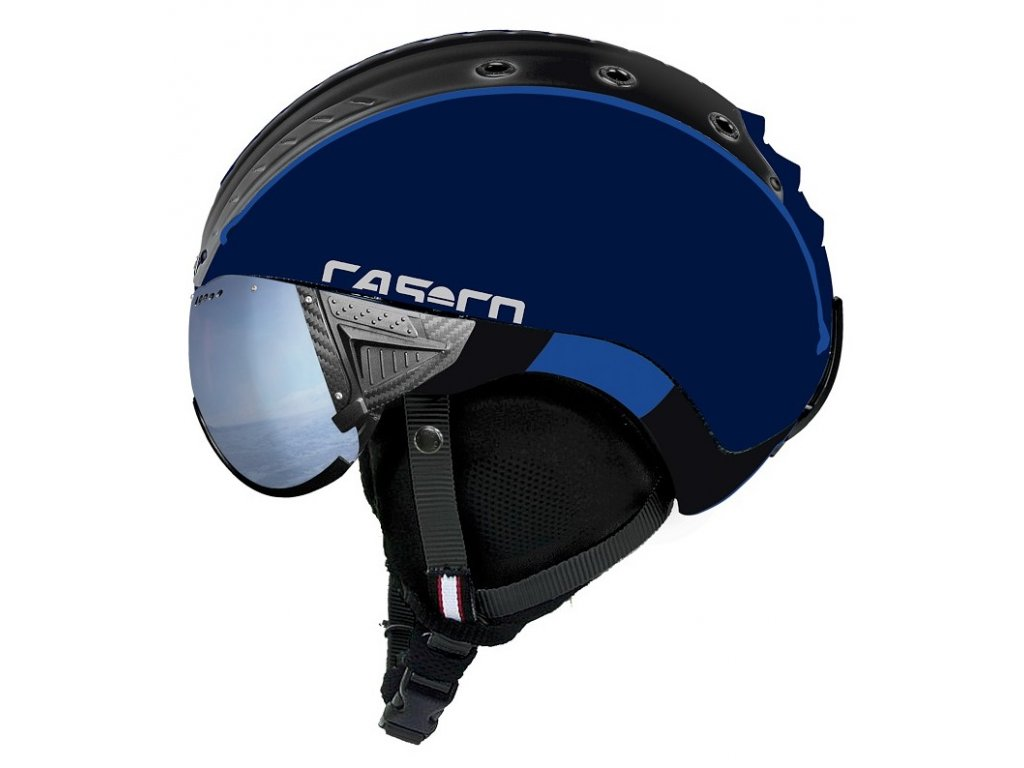 Casco SP 2 Visier Polarized navy black matt