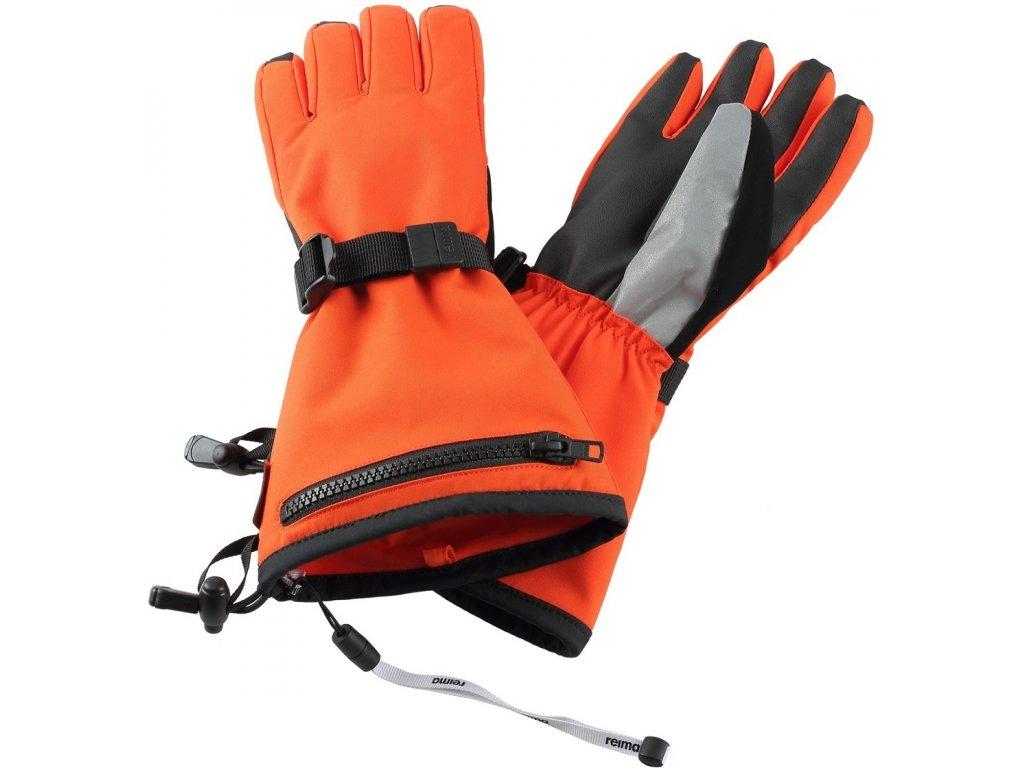 Reima Viggu orange - dětské rukavice