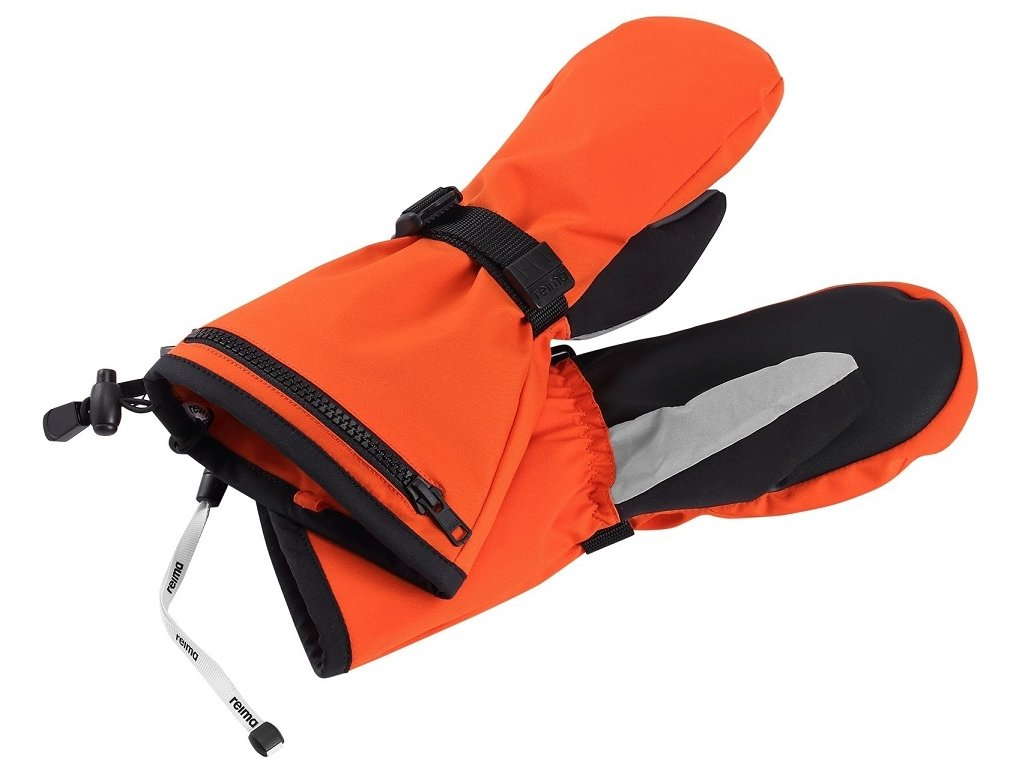 Reima Riggu orange - dětské rukavice