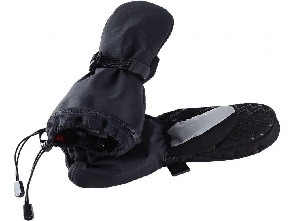 Reima Riggu black - dětské rukavice