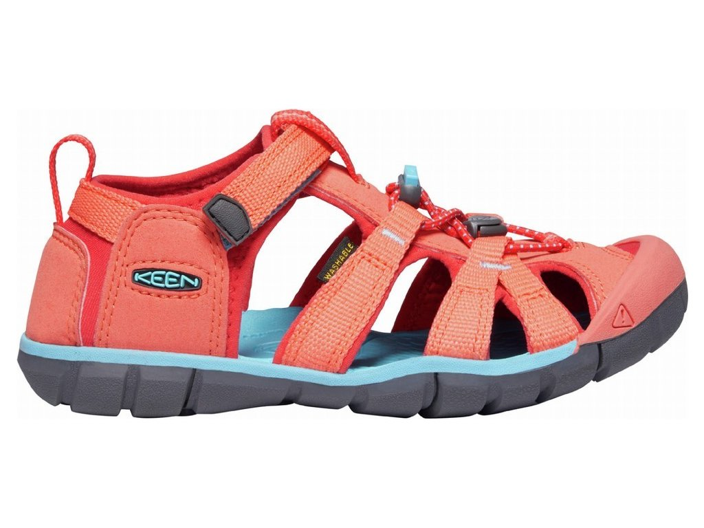 SEACAMP II CNX C CORAL POPPY RED 3