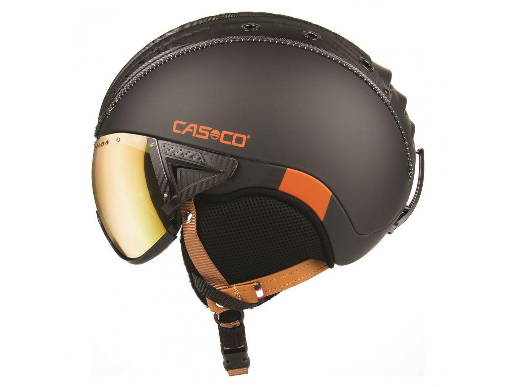 CASCO SP 2 Visier Polarized Black RustOrange side cmyk 07.3724