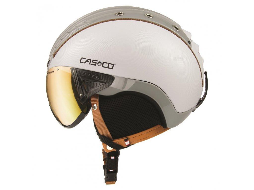 CASCO SP 2 Visier Polarized White Structure sand gray side cmyk 07.3726