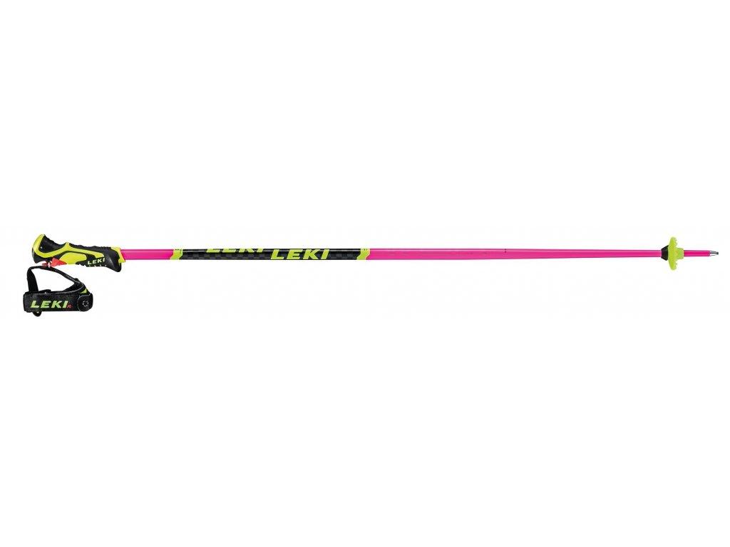 Leki Worldcup Lite SL 3D - neonpink-black-neonyellow 20/21
