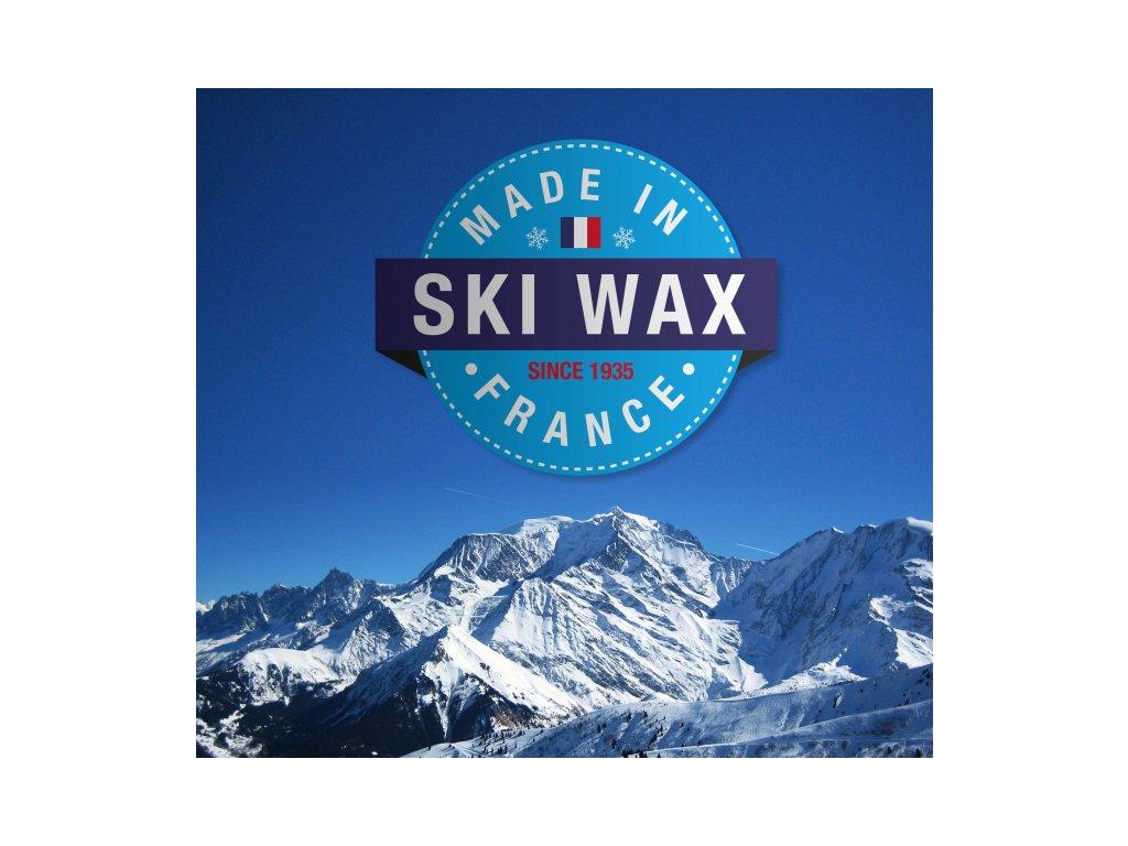 Vola tréninkový sjezdový vosk 500g modrý