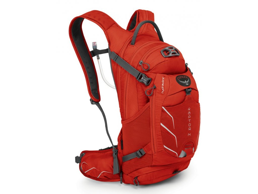 Osprey Raptor 14 - Red Pepper