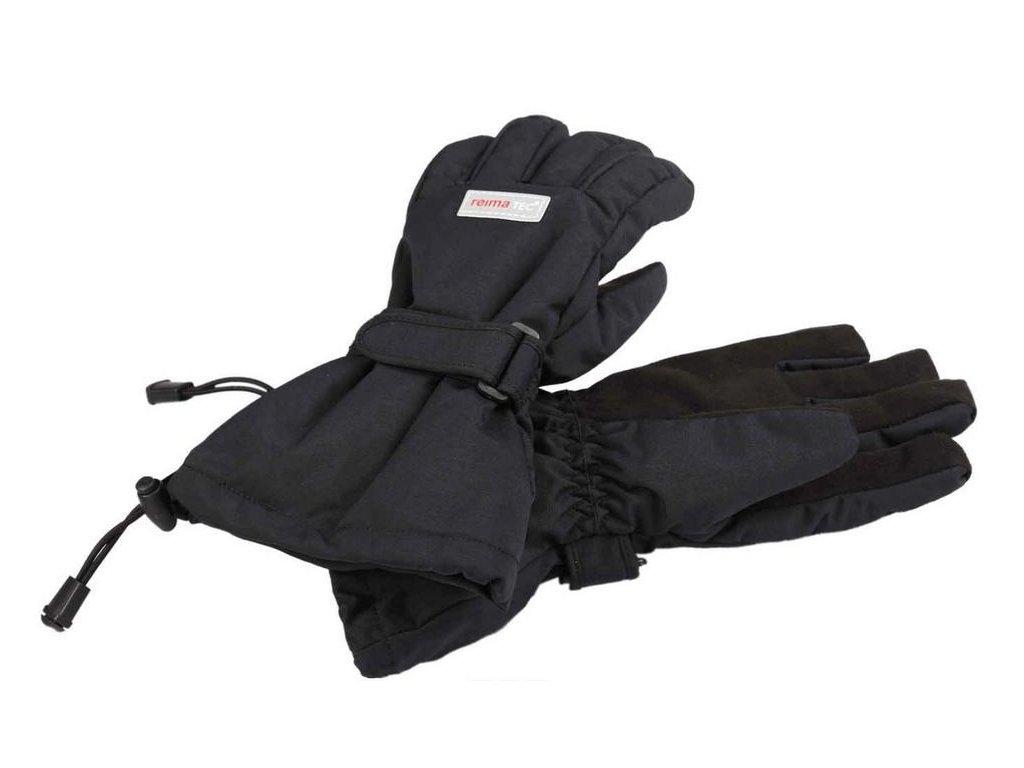 Reima Kiito black - dětské rukavice