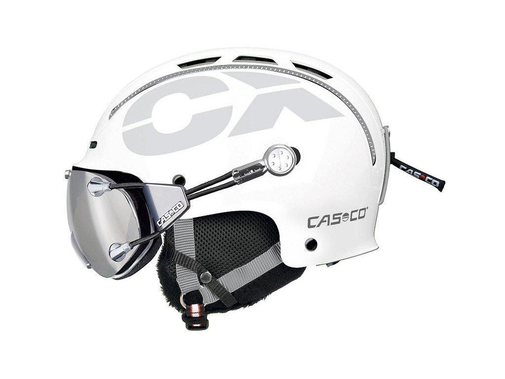 Casco CX3 Icecube White Side+FX70 Carbonic 3327