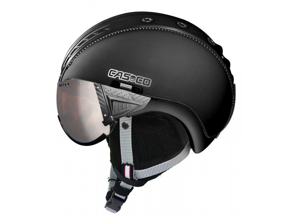 Casco Snowball Visor Black Side 3702