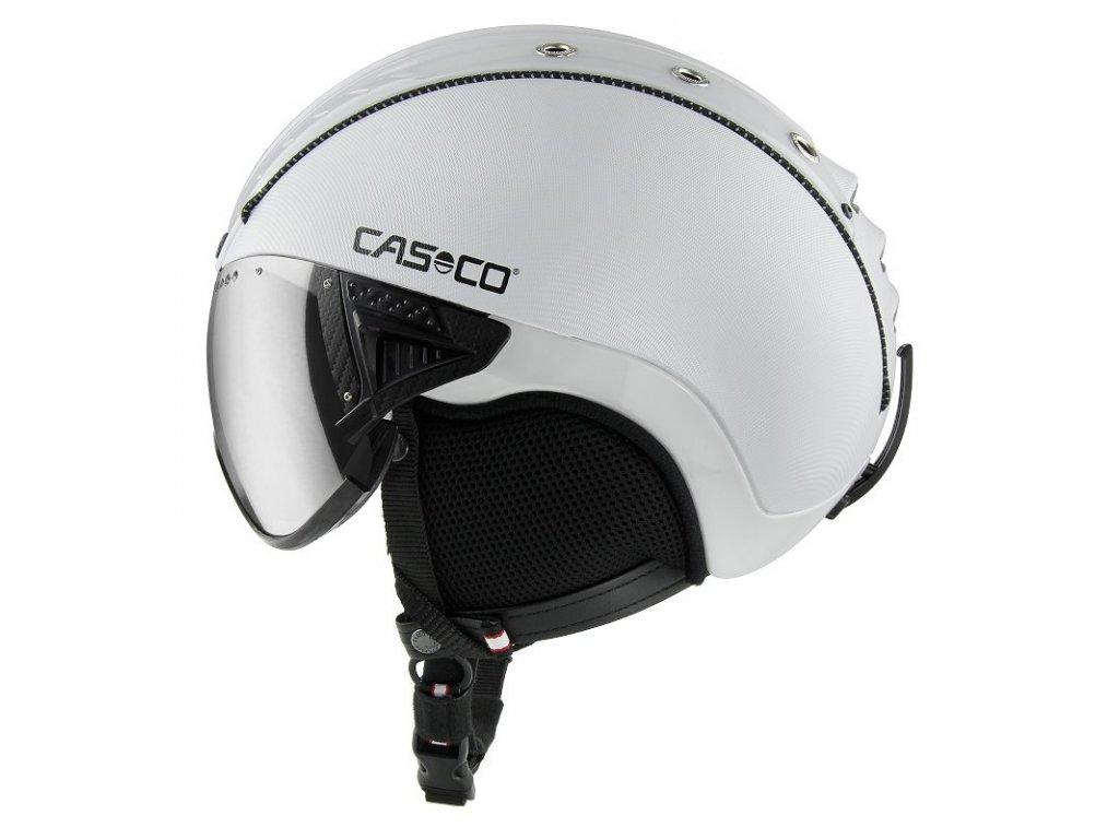 Casco SP2 Visor White Side 3707