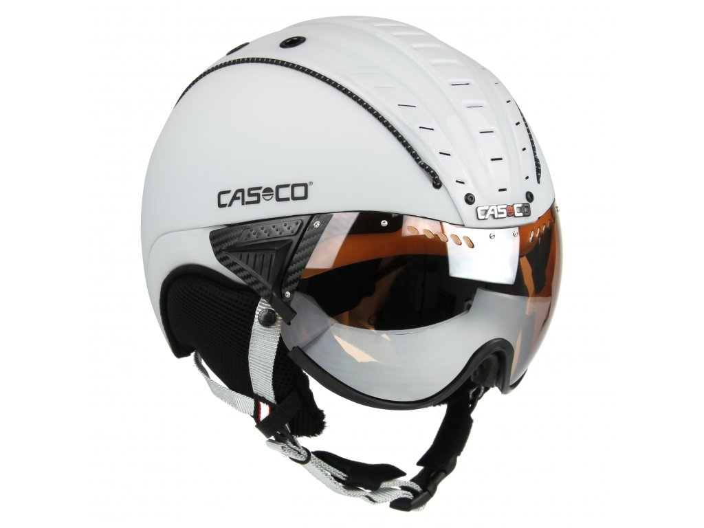 Casco SP2 Visor White Side 3707