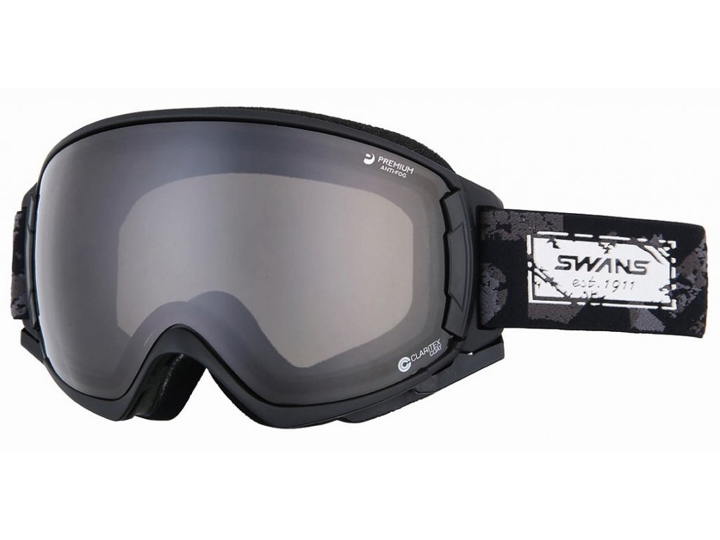 Swans brýle ROVO-MDH-SC-LI - Matt Black