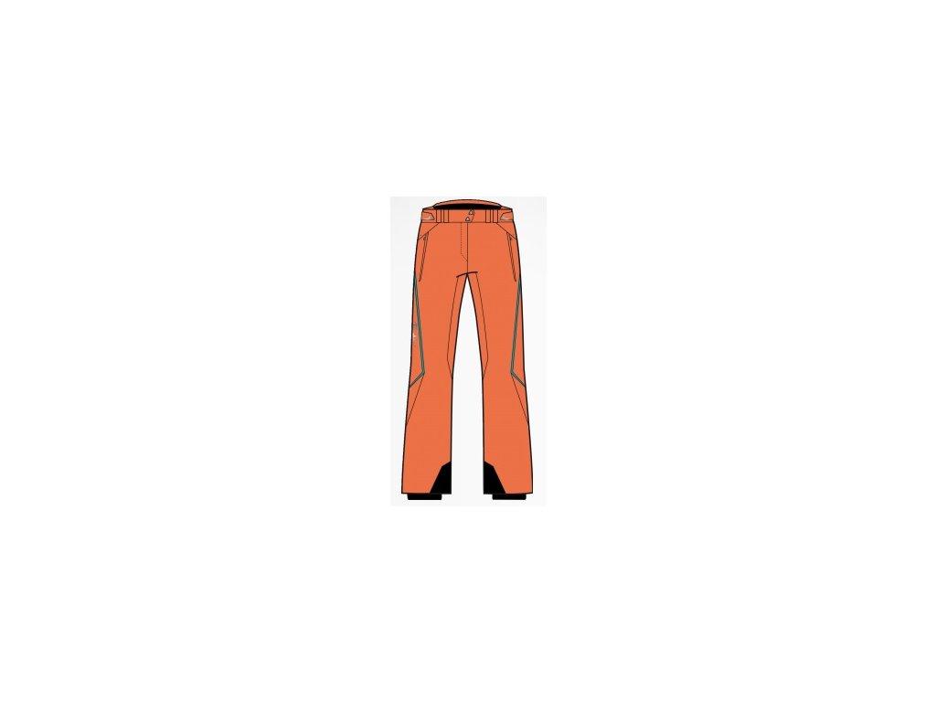Fischer Solda orange - dámské lyžařské kalhoty 2013/14