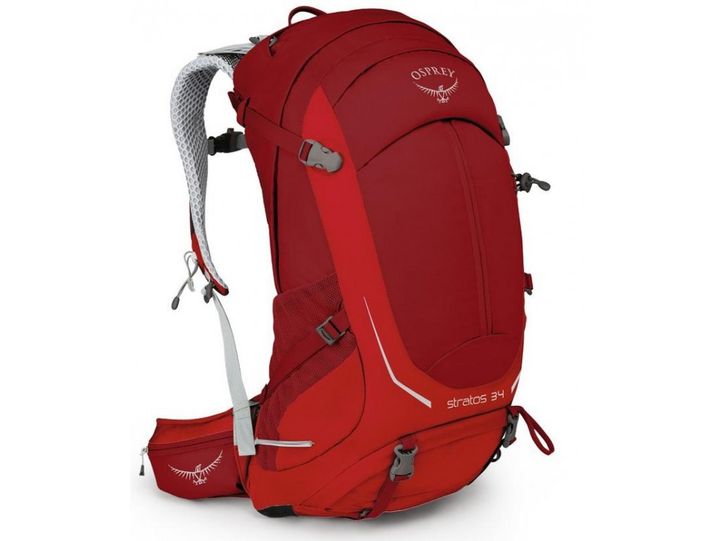 Osprey Stratos 34 - beet red