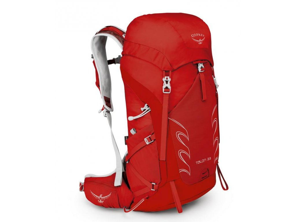 Osprey Talon 33 II - Martian red