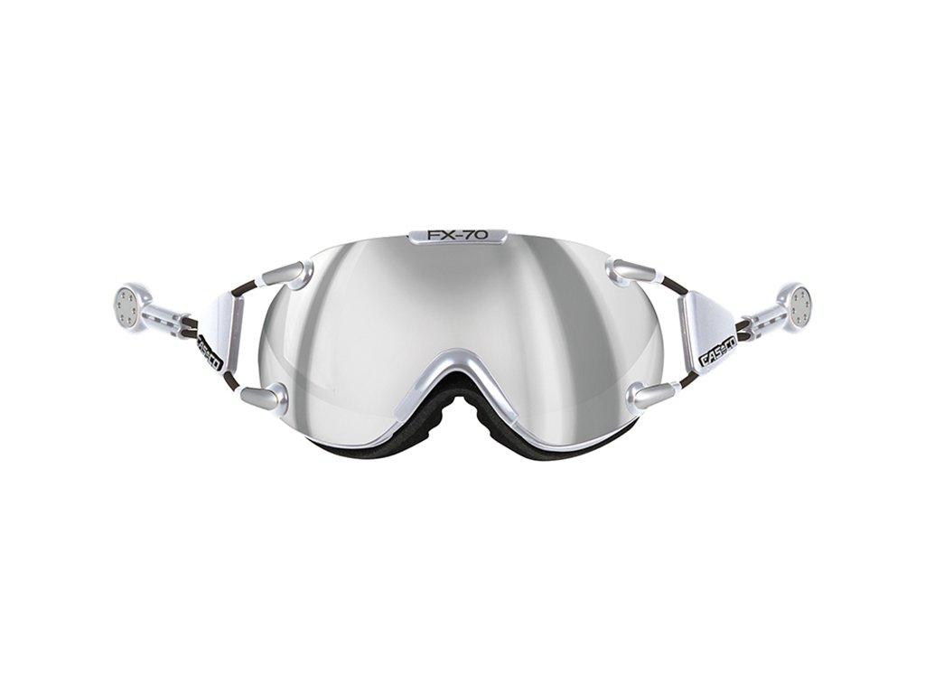 Casco FX-70 Carbonic chrome-silver