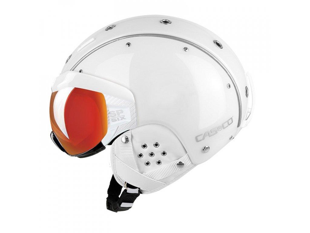 Casco SP6 SIX Visor White left Side 2567