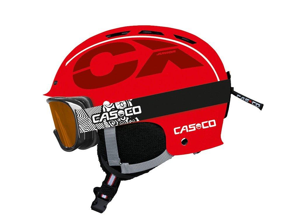 Casco CX3 Junior Red Side+AX30 PC 3374