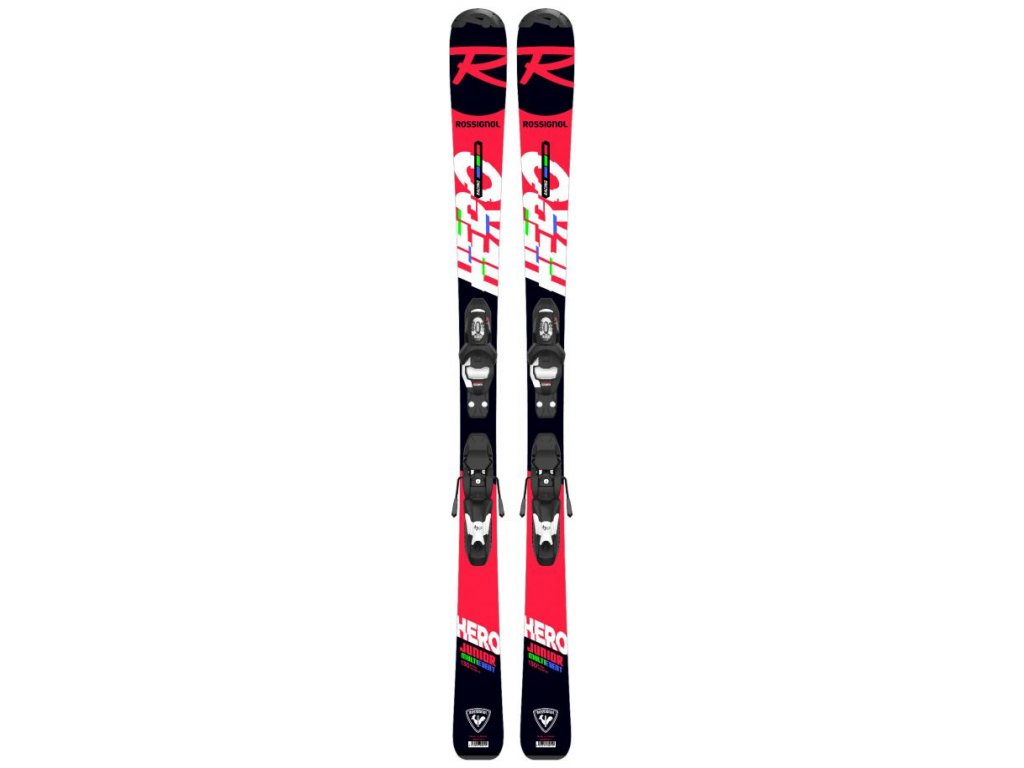 Rossignol hero jr kid x 100 130 fcfk002 kid x 4 b76 black white