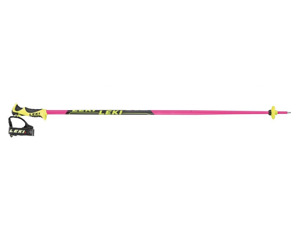 Leki Worldcup Lite SL Pink Edition