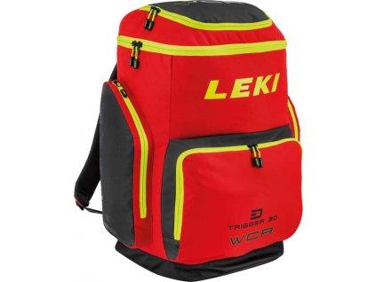 Leki ski boot bag wcr 85l fluorescent red black neonyellow 85 l