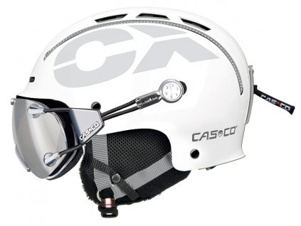 Casco CX3 Icecube White Side+FX70 Carbonic 3327