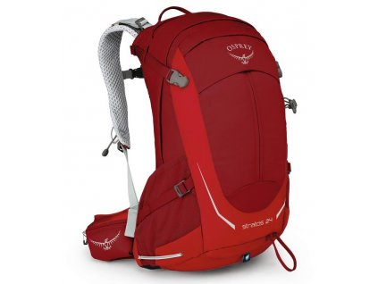Osprey Stratos 24 - beet red