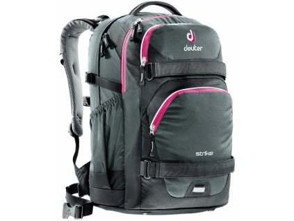 Deuter Strike - black-magenta