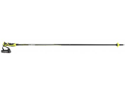 Leki Carbon 14S black - neonyellow