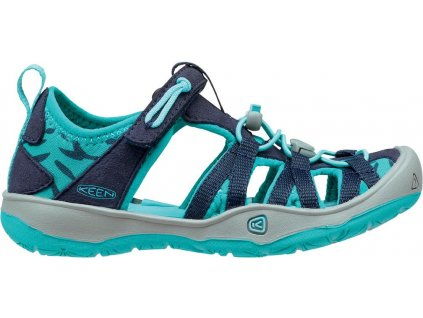 Keen Moxie Sandal JR Dress Blues - Viridian