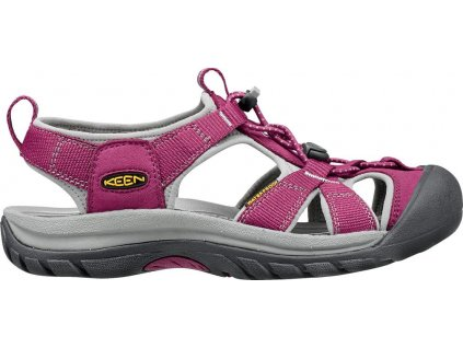 Keen Venice H2 Women - Beet red / Neutral gray