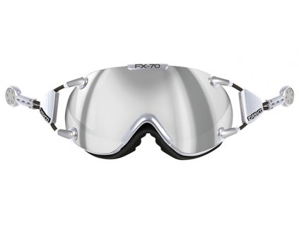 Casco FX-70 Carbonic chrome-silver
