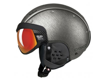 Casco SP6 SIX Visor Silver left Side 2568