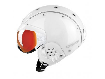 Casco SP6 SIX Visor White left Side 2567