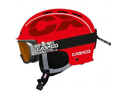 Casco CX3 Junior Red Side+AX30 PC 3374