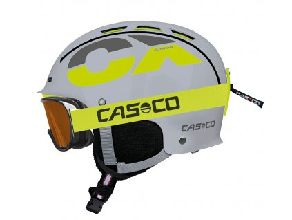 Casco CX3 Junior Grey Neon Side+AX30 PC 3379