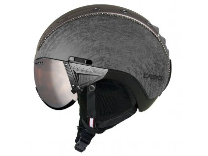 Casco SP2 Visor Titan Metallic Side 3706