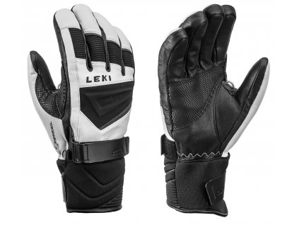 Leki griffin S white black graphite